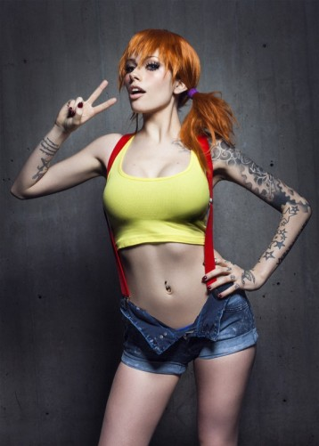 Misty of Pokemon Cosplay
